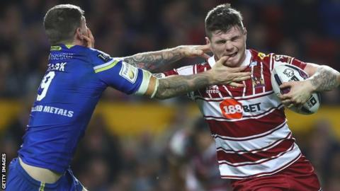 Wigan v Warrington