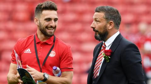 Graeme Shinnie and Derek McInnes