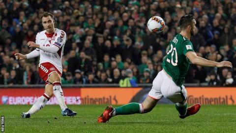 Republic of Ireland miss out on World Cup spot