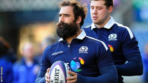 Josh Strauss will miss the rest of the Six Nations campaign
