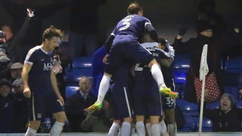 Simon Cox's late winner was his ninth goal of the season for Southend United