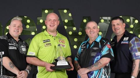 Premier League Darts finalists
