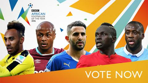 Nominees For BBC African Player Of The Year Revealed