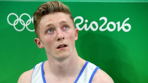 British gymnast Nile Wilson