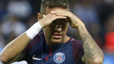 Neymar moves to PSG