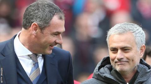 Man Utd boss Mourinho: Swansea will be okay