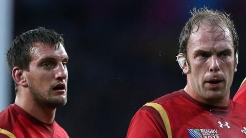 Sam Warburton and Alun Wyn Jones