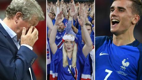 Roy Hodgson, Iceland fans and Antoine Griezmann