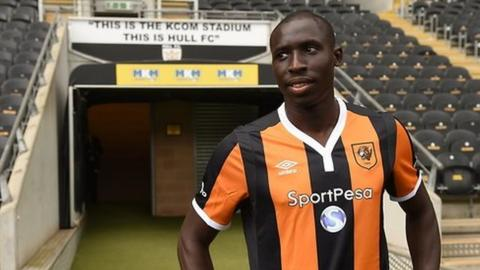 Senegal and Hull midfielder Mohammed Diame