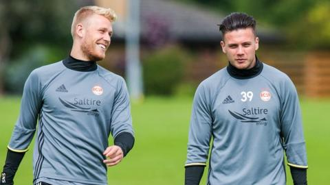 Jayden Stockley (left) and Miles Storey