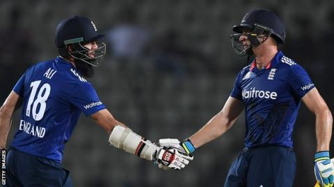 Moeen Ali and Jos Buttler