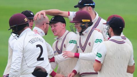 Somerset wicket