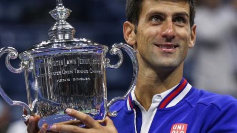 Novak Djokovic in 2015