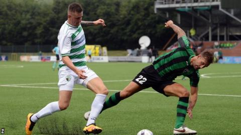 The New Saints beat Europa FC over two legs in the first qualifying round