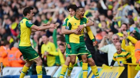 Norwich's victory last weekend has taken them four points clear of the relegation zone.