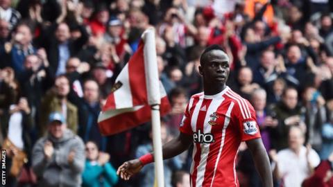 Sadio Mane scored a hat-trick in Southampton's 4-2 win in this fixture last season