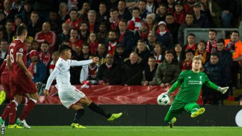 Liverpool held by Sevilla on Champions League return