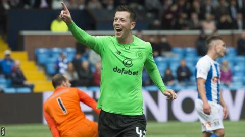 Celtic's Callum McGregor signs new contract until summer 2021