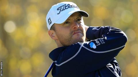 Stone takes 3-shot lead into final round of Alfred Dunhill