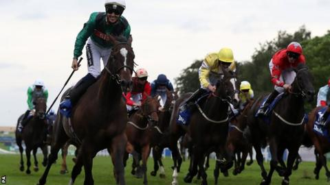 Limato wins the July Cup