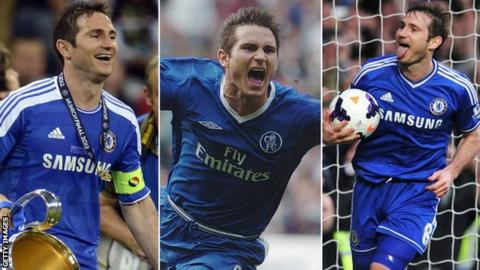 Tribute to 'Super' Frank Lampard