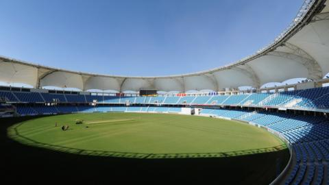 The Dubai Cricket Ground