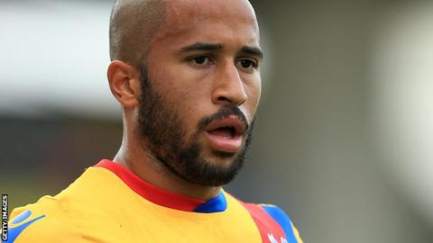 Crystal Palace winger Andros Townsend