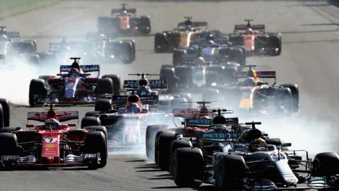 Azerbaijan Grand Prix start