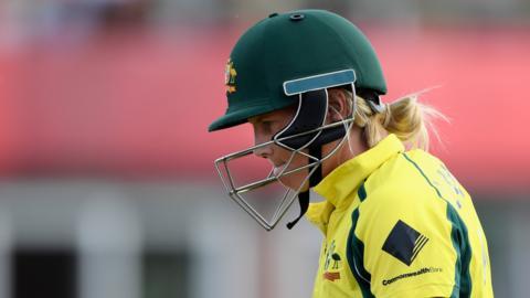 Australia's Meg Lanning