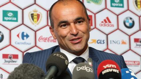 Former Everton manager Roberto Martinez named as new Belgium head coach