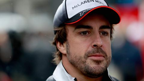 McLaren-Honda F1 driver Fernando Alonso