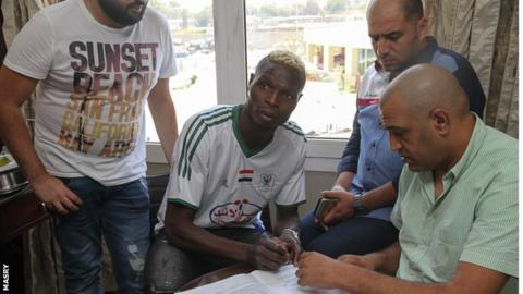 Burkina Faso's Aristide Bance completes Al-Masry switch