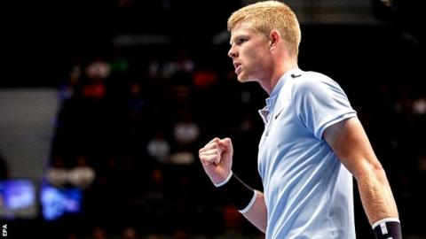Vienna Open: Kyle Edmund through after grueling match vs. Dennis Novak