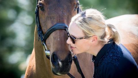 Zara Tindall with High Kingdom
