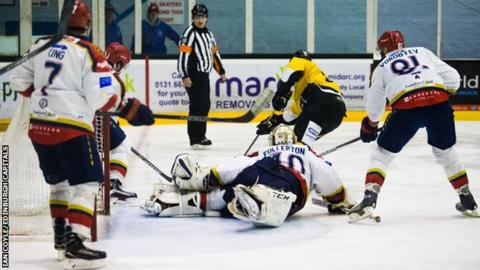 Nottingham Panthers won two of their three games in Scotland this weekend at Edinburgh Capitals