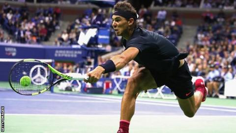 Nadal beats Del Potro to set up final against Anderson