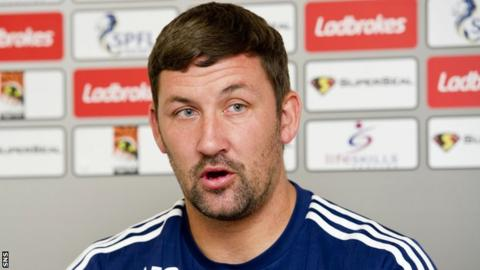 Hamilton Accies manager Martin Canning