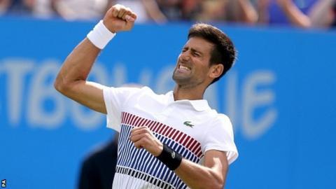 Novak Djokovic wins Eastbourne to boost Wimbledon title hopes