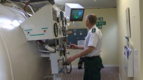 The hyperbaric chamber