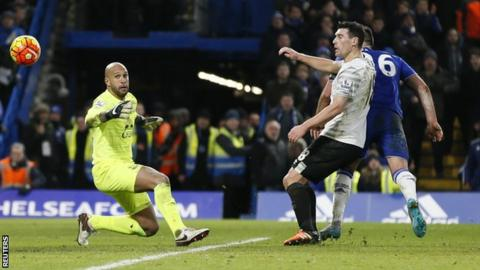 John Terry slots Chelsea's last-gasp leveller past Tim Howard