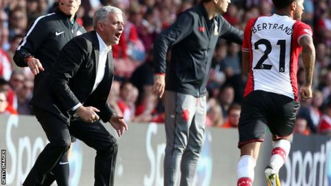 Jose Mourinho: Man Utd boss avoids further punishment after dismissal at Southampton