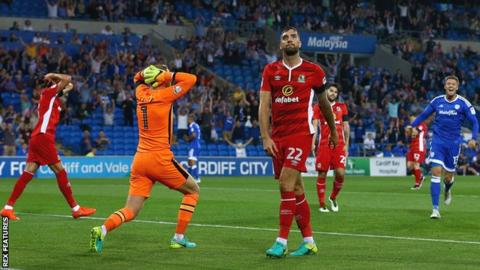 Cardiff City 2-1 Blackburn Rovers