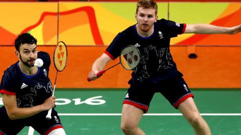 Chris Langridge and Marcus Ellis of Great Britain