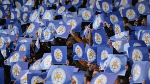 Leicester banners