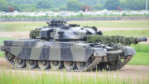 Chieftan tank