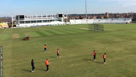 Northants v Sussex
