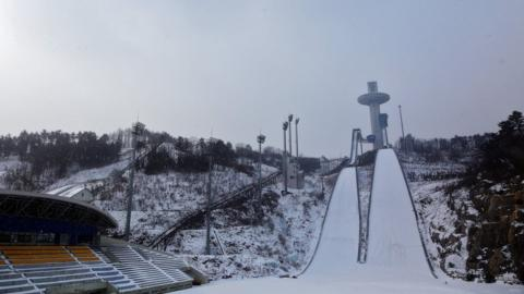 Alpensia Ski Jumping Centre in PyeongChang