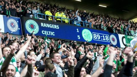 Celtic defeat Rangers 5-1 at Ibrox