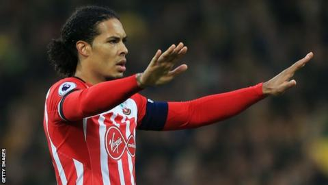 Massive development in Virgil van Dijk transfer stand-off