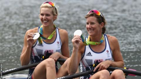 Victoria Thornley & Katherine Grainger